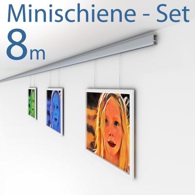 Komplett-Set minirail | 8 Meter